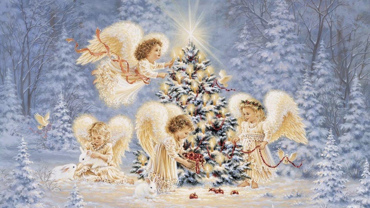 Открытки с рождеством красивая